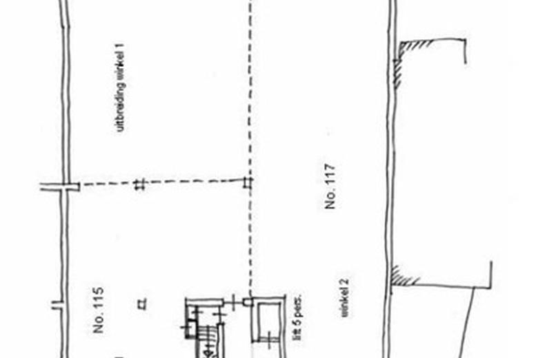 WinkelruimteaanDorpsstraat 115 A/117<br/> inEnter
