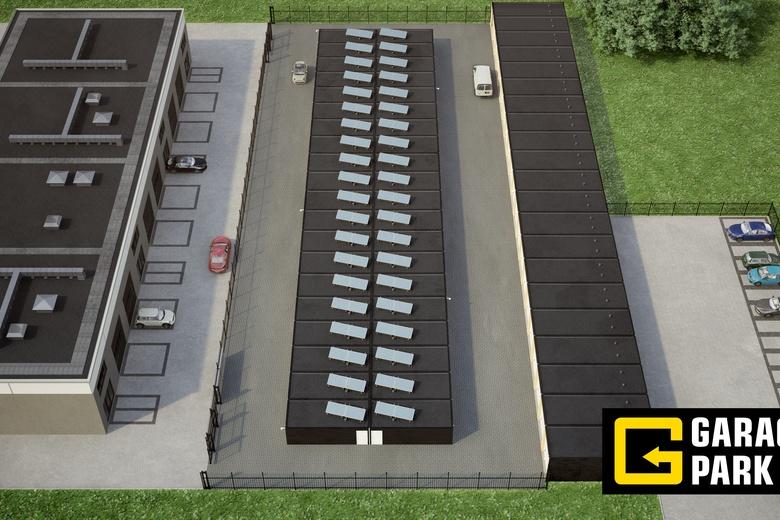 GarageboxaanGaragepark Bergen op Zoom<br/> inBergen op Zoom