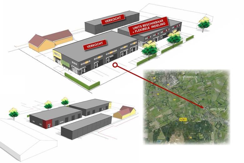 BedrijfsruimteaanIndustrieweg 12<br/> inAppelscha