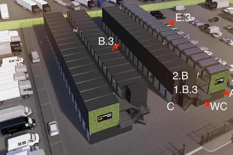 GarageboxaanTuinbouwveilingweg<br/> inBreda